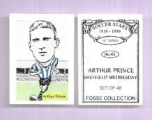 Sheffield Wednesday Arthur Prince 43 (FC)